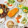 お誕生日当日のおうちごはんとプレゼント(初めてLazadaでお買い物)/Birthday Dinner&Present