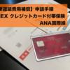 【航空便遅延費用補償】の申請手順 AMEX クレジットカード付帯保険 ANA国際線編