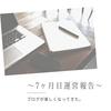 はてなブログ7ヶ月目運営報告!ブログが習慣化。