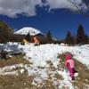 雪遊びの休日