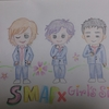 SMAP×ときメモ風ミニキャラ描いてみた