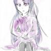 菫色の女の子