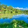 馬見塚の池(長野県駒ヶ根)