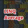 【C#,LINQ】Average~配列やリストの値の平均値を求めたいとき~