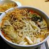 【今日の食卓】カオソーイ。タイ北部のココナッツミルク入りカレー麺。昨日はご飯を入れたが、今日は普通に