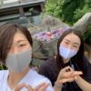 「PFUブルーキャッツ」の村上華澄 選手が輪島へドライブに来ました (≧▽≦)b