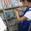 7月24日(水)イベント「こども図書館員」開催しました。