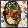【普通弁当】鶏のハチミツ&味噌焼き