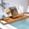 Bathtub caddy tray が素晴らしい
