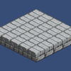 【Unity】2Dタイルマップ11 ScriptからTileを自動的に配置する