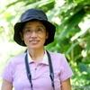 コスタリカ 背景はジャングルの緑