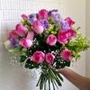 「建國假日花市」でお花を買いました。