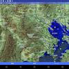 スーパー地形図アプリで標高パレットを使う。