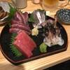 【人形町】酒喰洲桜井水産:刺身、焼き物、天ぷら、みんな美味しい、立ち飲み屋さん