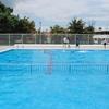 水泳の授業 5年生