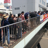 GW期間の江ノ電藤沢駅の混雑状況