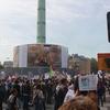 パリのデモに参加した:バスティーユ