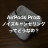 【レビュー】AirPods Proを3か月使った感想。AirPodsとどっちが良いの?