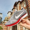 "【レビュー】ナイキフライニットレーサー Wolf Grey / Red ・ NIKFLYKNIT RACER Wolf Grey / Red ""NO PARKING"""