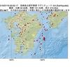 2015年07月19日 00時50分 宮崎県北部平野部でM3.6の地震