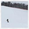 スキー場でそり遊びと、メルカリ出品物の整理