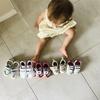 """【1歳育児】子ども靴の買い替え頻度は本当に""""3ヶ月に1回""""だった"""