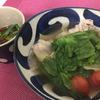 舘様レシピ 〜トマトとレタス鍋 withニラ&ラー油入りポン酢で〜