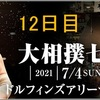 「四丁目企画」「大相撲七月場所」12日目の取組み8番の勝敗と最高点を予想して下さい。