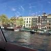 アムステルダム カナルクルーズ乗船  2