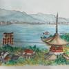 6月21日、水彩画の教室と植物園