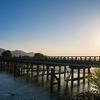 朝の京都嵐山をぶらぶらと
