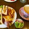 駅前のカフェでランチ☆大阪弁天町