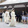 黒田清子さん、伊勢神宮を参拝…祭主就任を報告
