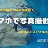 【スマホで写真撮影】XPERIA1Ⅱ&Fhoto proで撮影 海洋館アクアス編