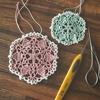 10年プレゼント|ドイリーの編み図と糸をプレゼントします♪