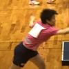 ひかる選手(白子高校)の、女子シングルス二回戦 2019 卓球インターハイ 東海大会・東海総体