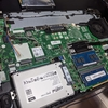 開発用ノートPCのHDDをSSDに換装するのだ。