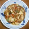 私と料理:自前の まーぼ豆腐