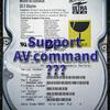 AVコマンド対応HDDの識別方法