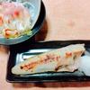 ホッキ貝の刺身🐚とホッケの味噌漬け🐡