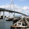 大阪港における水上生活者
