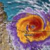【破壊的サイクロン】「デビー」オーストラリア上陸〜カテゴリー4、風速最大75m、雨量1時間211ミリ!?