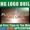 """FLYING LOGO BUILDER for iOS"" has been released"