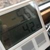 軽井沢の本領発揮、−5.5度