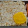 【昭和風の弁当】えのき茸の混ぜ御飯とウインナーの弁当