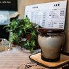 昭和の香の喫茶店にて