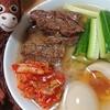 猿のエサ■料理初心者のオイラが焼肉屋の冷麺を家で作って食う