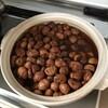 栗の渋皮煮を作ってもらって。。。食べる。