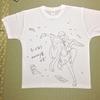 プラスワンさんが運営するマイシュミでTシャツ作りました。