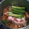 牛テールでスープを取ってみました